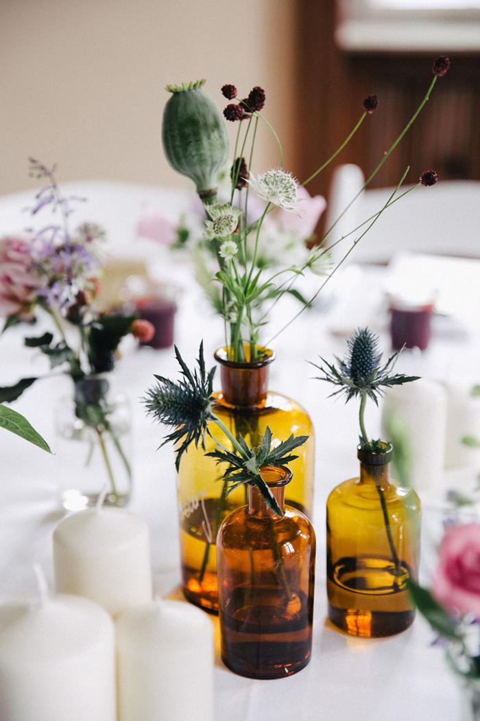 Hochzeitsdeko Apothekerglas