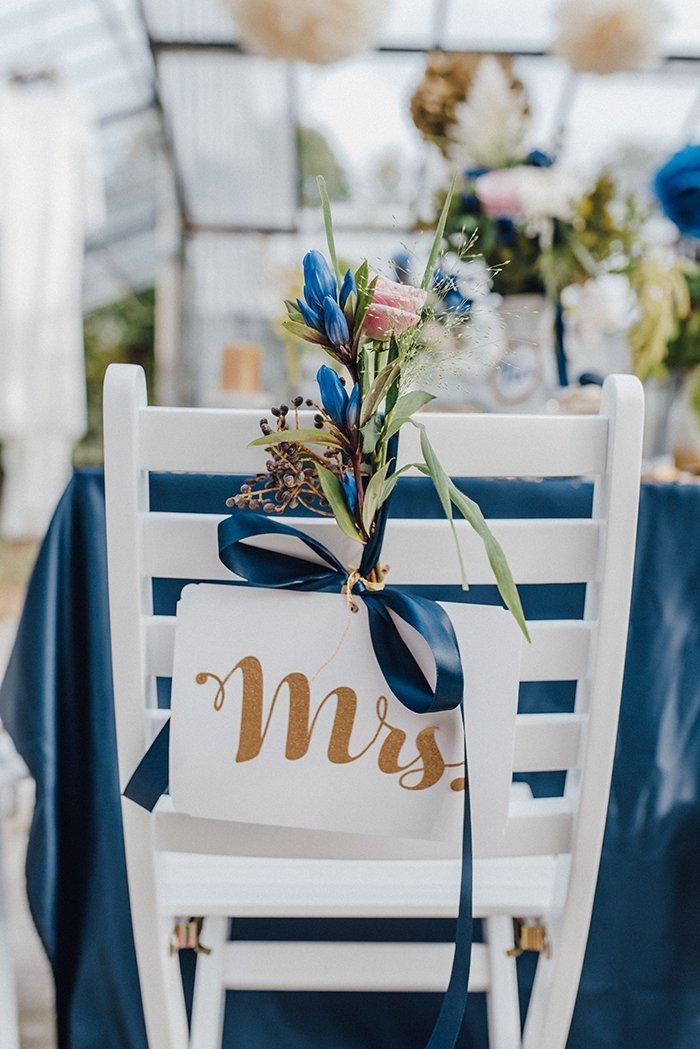 Stuhl Deko Hochzeit ideen für blaue details bei der hochzeit friedatheres com
