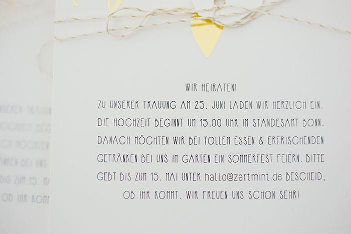 Gold gr ne hochzeitsdekoration - Hochzeitseinladung text modern ...