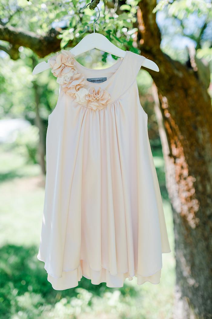 Blumenmaedchen Kleid rosa