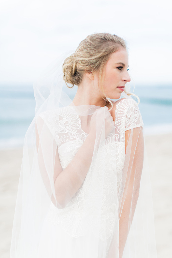 Brautkleid mit Schleier (5)