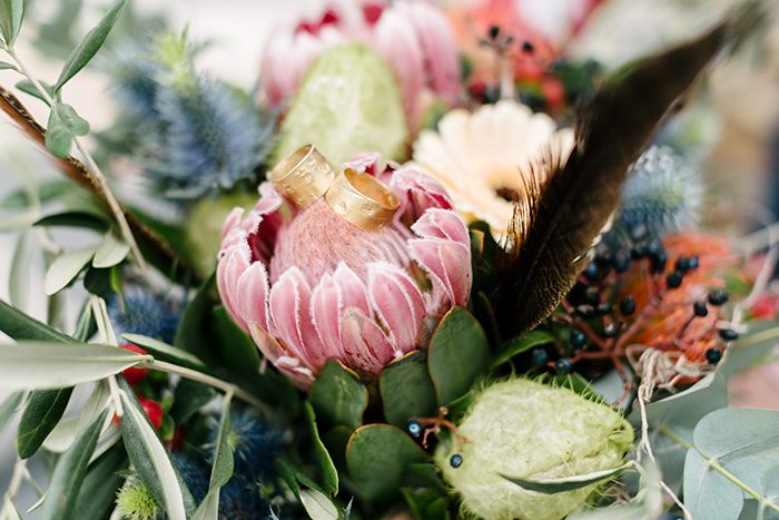 Brautstrauss Protea (2)