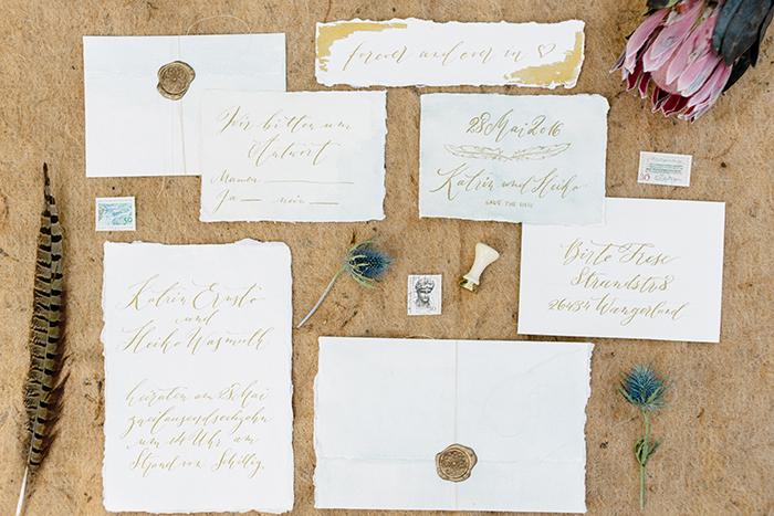 Hochzeitseinladungen Kalligrafie (2)