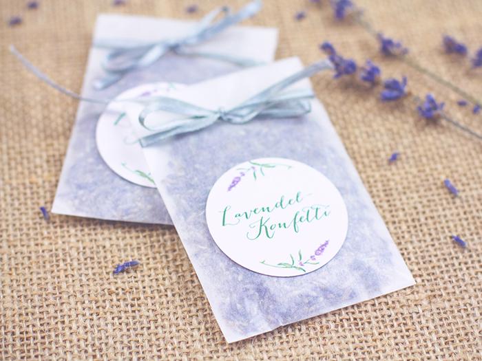 Lavendel Konfetii