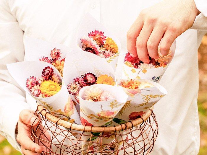 Trockenblumen Hochzeit