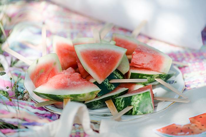 Wassermelonen Spiesse