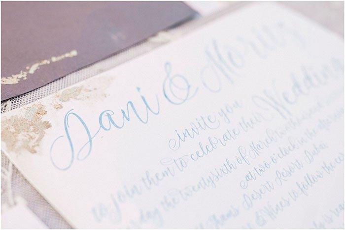 goldene Einladungen Hochzeit (2)