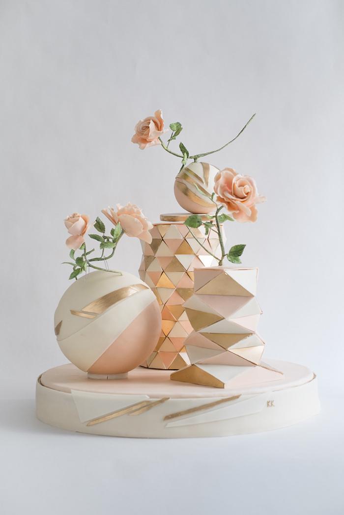 kreative Hochzeitstorte (3)