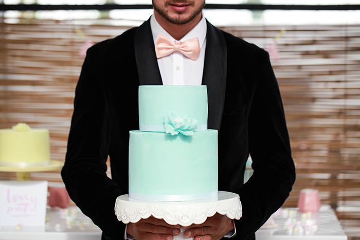 mintgruene Hochzeitstorte (2)