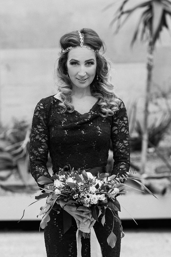 schwarzes Brautkleid Spitze (2)