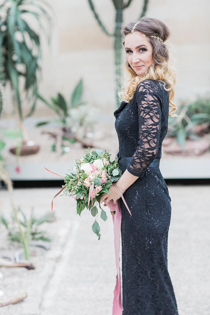 schwarzes Brautkleid Spitze (3)