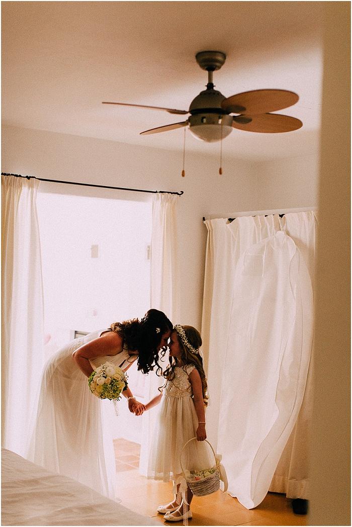 Braut und Tochter