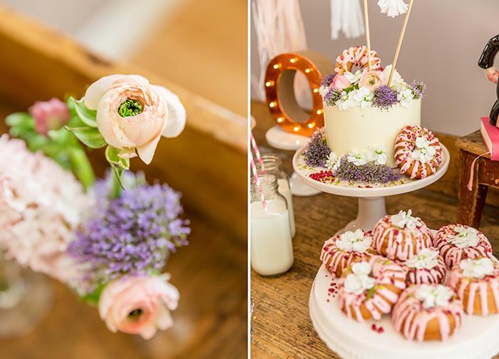 Donuttorte Hochzeit