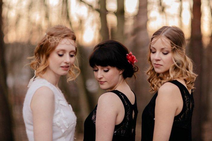 Haarketten Braut