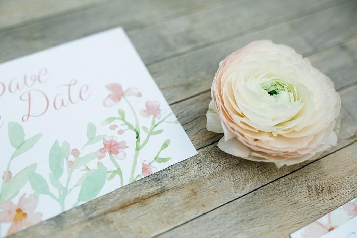 Hochzeitseinladung Blumenmuster (4)