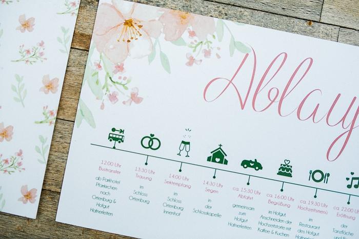 Hochzeitseinladung Blumenmuster (5)