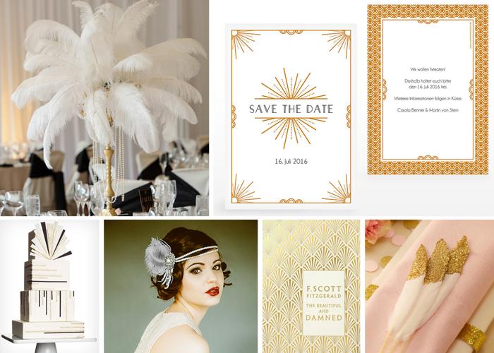 Hochzeitseinladungen 20er Jahre (2)