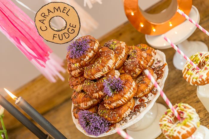 Karamelldonuts