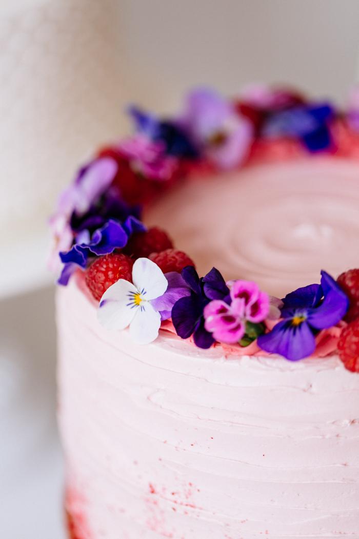 Rosa Hochzeitstorte_Blumen (3)