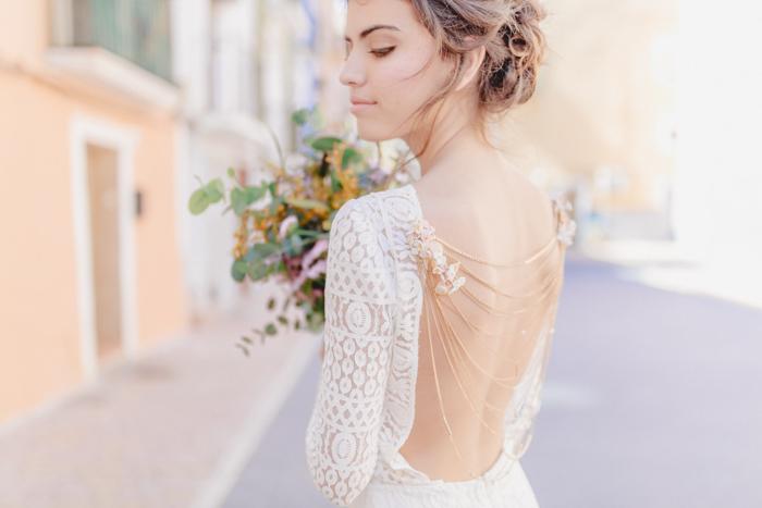 Schulterkette Braut
