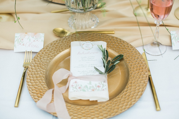 Tischdeko goldene Hochzeit (2)