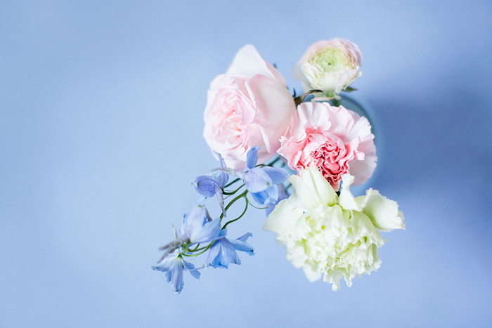 blaue Hochzeitsdeko (1)