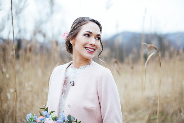 rosa Mantel Braut (2)