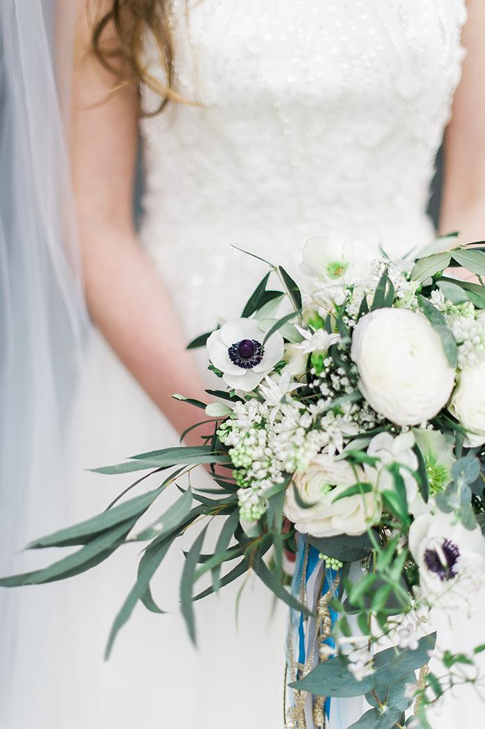 Brautstrauss Anemonen
