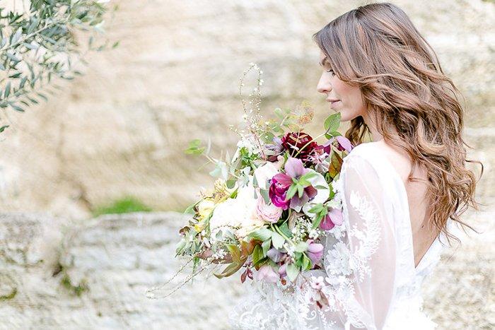 Brautstrauss Gartenhochzeit