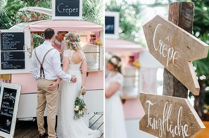 Crepes Hochzeit