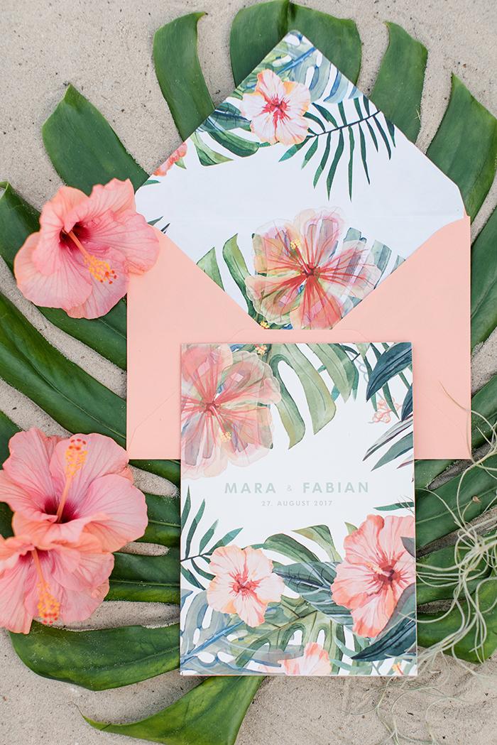 Einladungen Hawaii Stil (3)