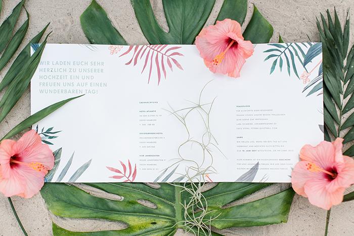 Einladungen Hawaii Stil (5)