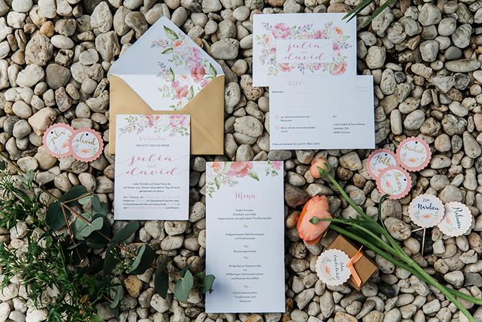Papeterie Hochzeit rosa (3)