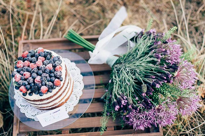 lila Blumen Hochzeit (2)