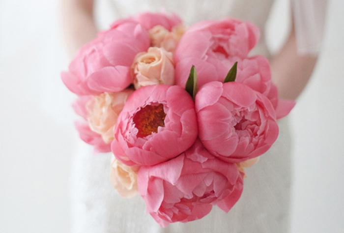 pinker Brautstrauss