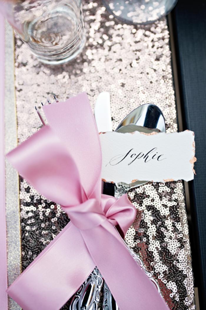 rosa Tischdeko Hochzeit (1)