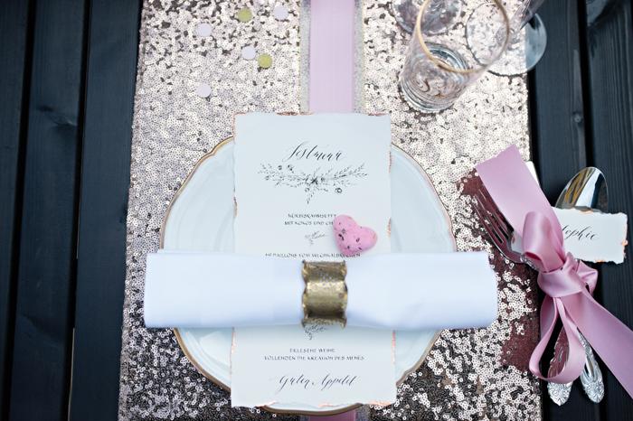 rosa Tischdeko Hochzeit (2)
