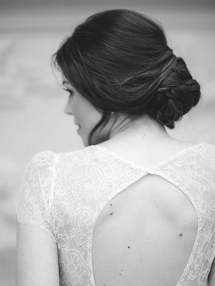 Brautfrisur Dutt