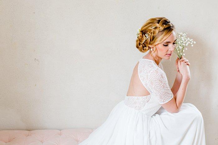 Brautkleid klassisch schlicht (1)