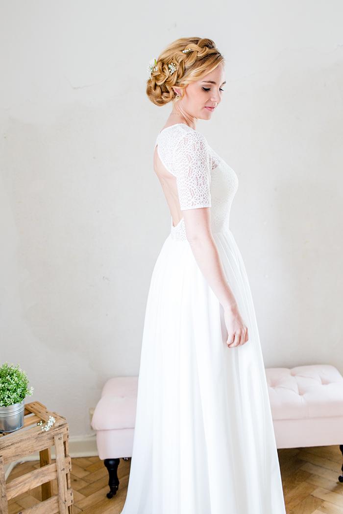 Brautkleid klassisch schlicht (2)