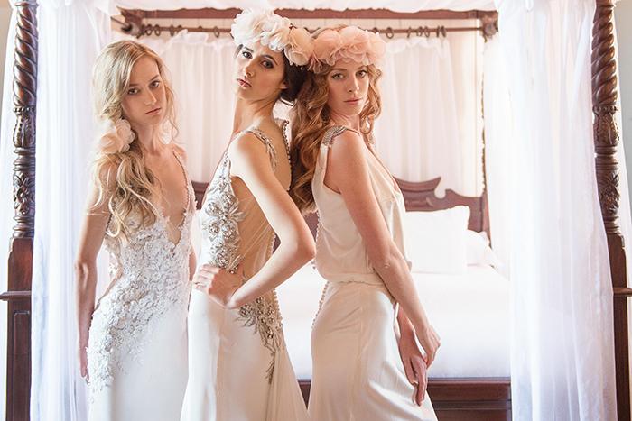 Brautkleid mit Glitzer (1)
