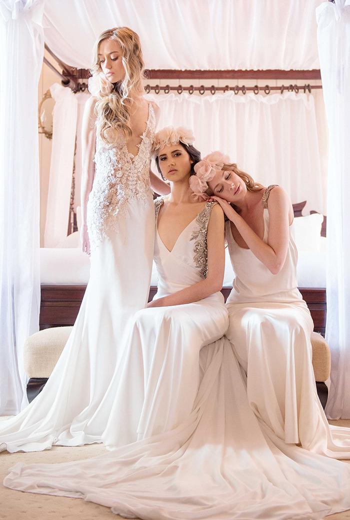 Brautkleid mit Glitzer (3)