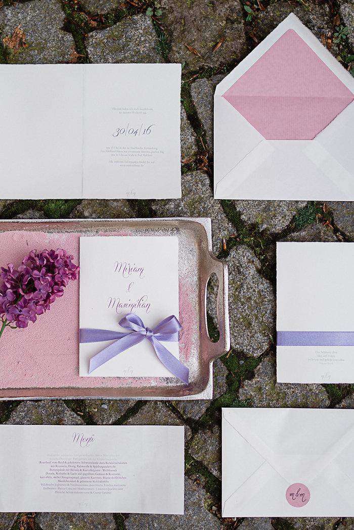 Einladung Hochzeit lila (5)