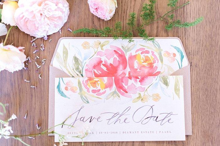 Hochzeitseinladungen mit Blumen (4)