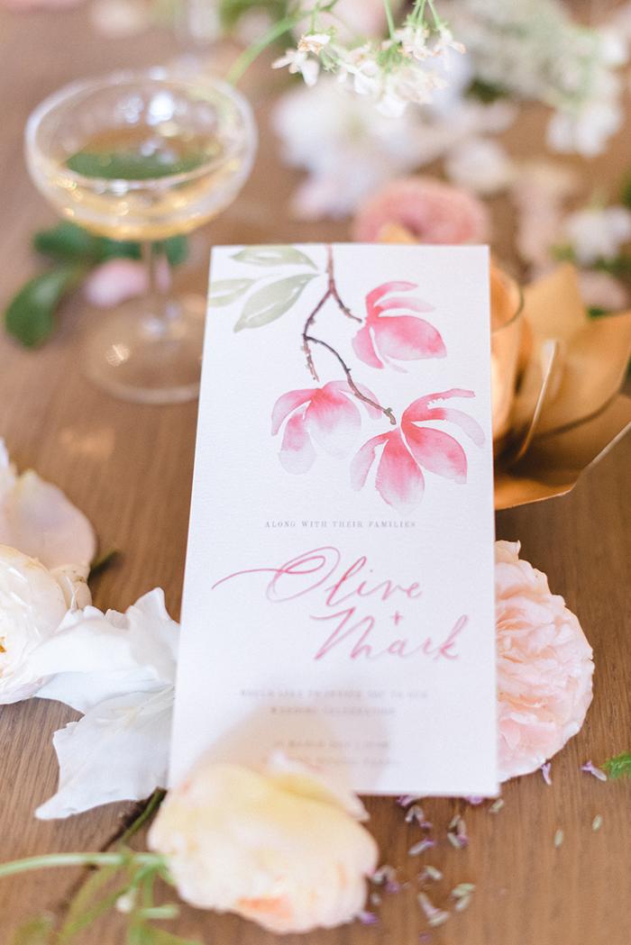 Hochzeitseinladungen mit Blumen (5)
