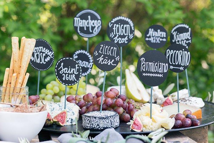 Kaeseplatte Hochzeit