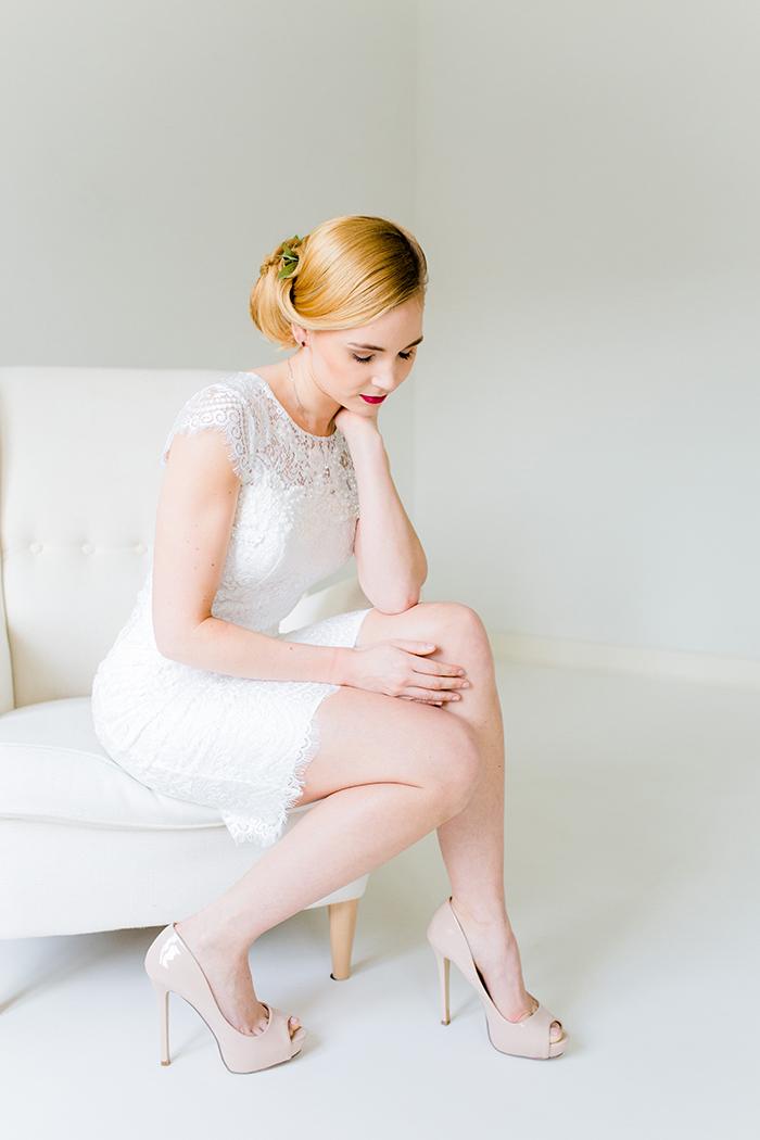 Kurzes Brautkleid (1)