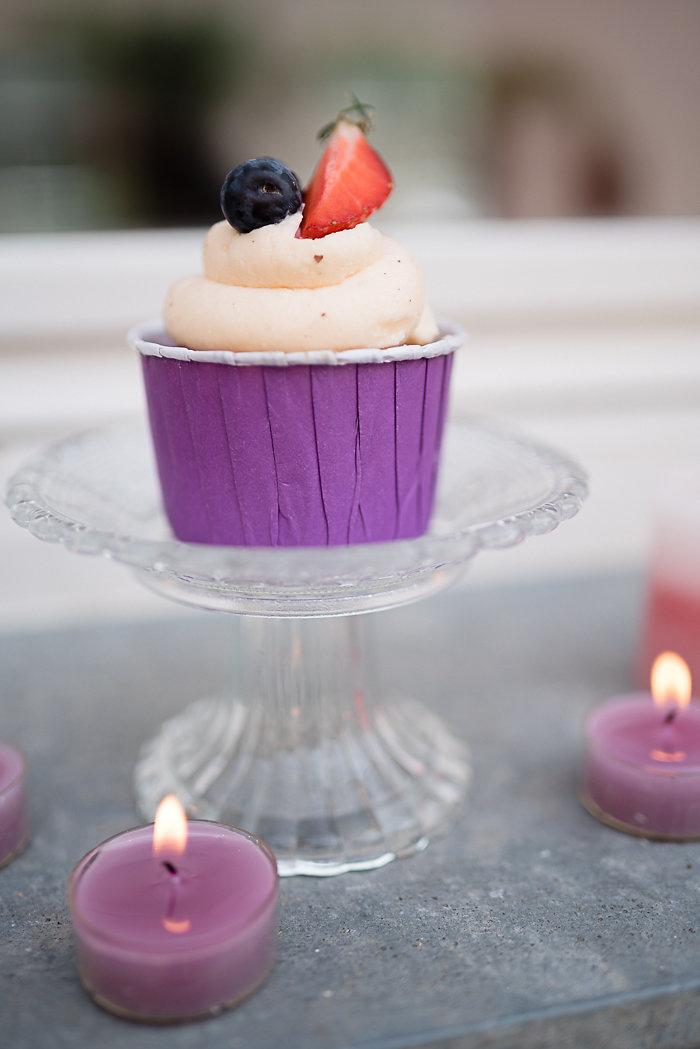 Lila Cupcake