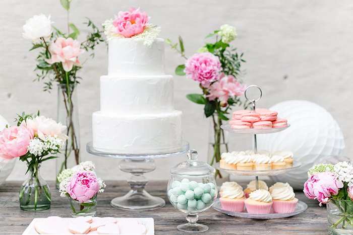 Sweet Table Hochzeit (1)
