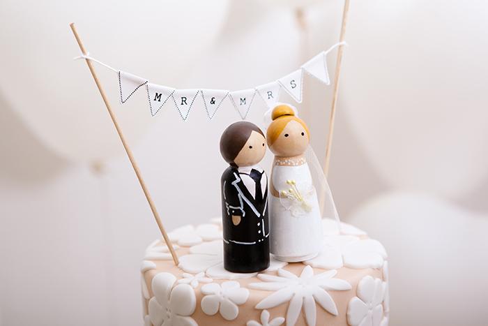 Wimpelkette Hochzeitstorte (1)